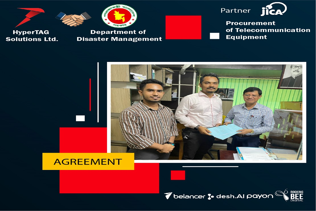 Agreement Signed Between Department of Disaster Management and Hypertag Solutions Ltd.